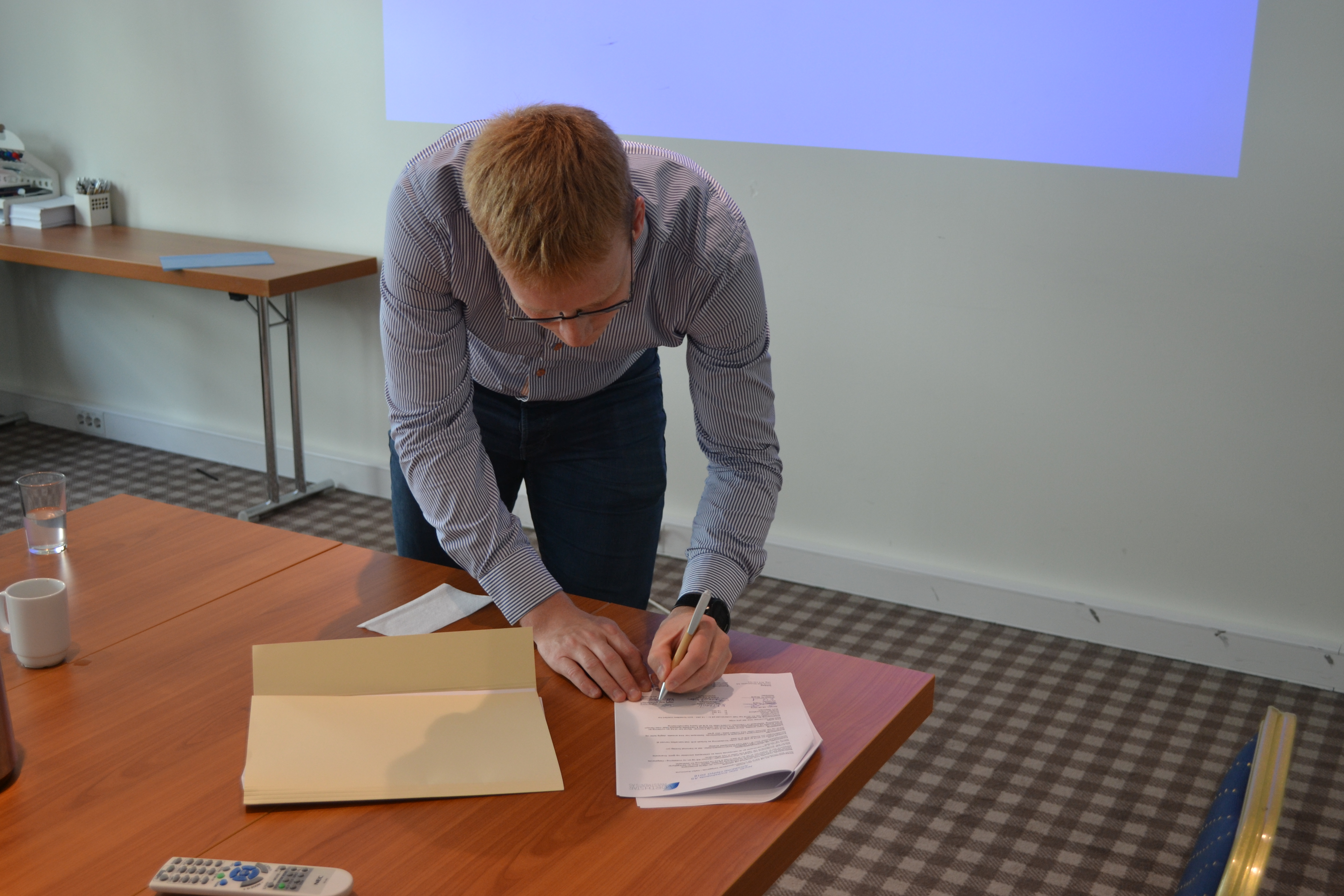 Signering Egil
